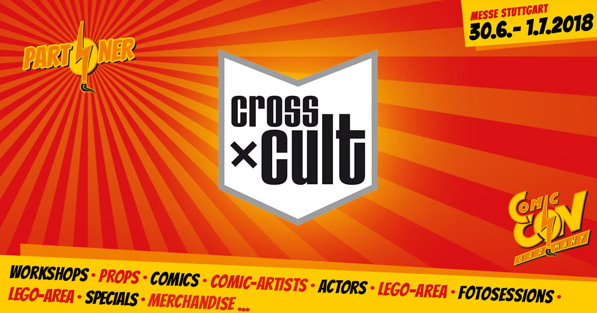 CCON | COMIC CON GERMANY | Partner | Cross Cult