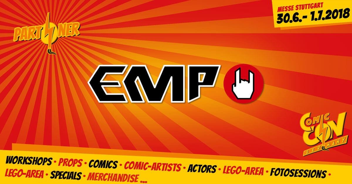 CCON | COMIC CON GERMANY | Partner | EMP