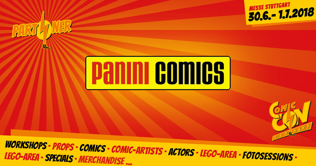 CCON | COMIC CON GERMANY | Partner | Panini Comics