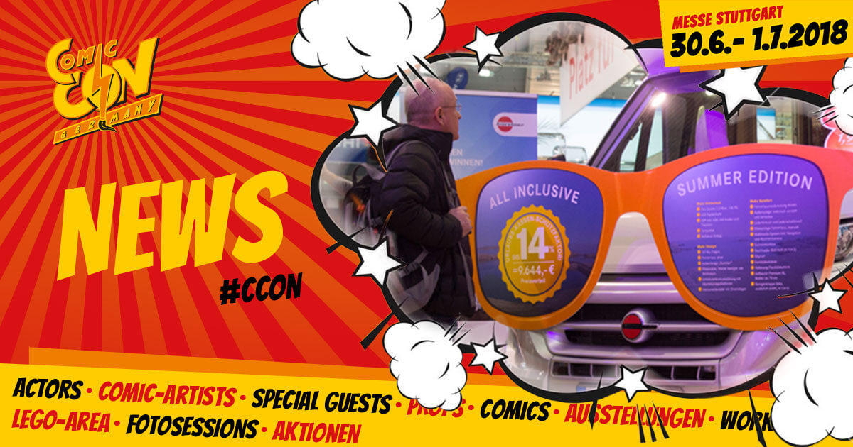 CCON | COMIC CON GERMANY | News | Comic Con Camp