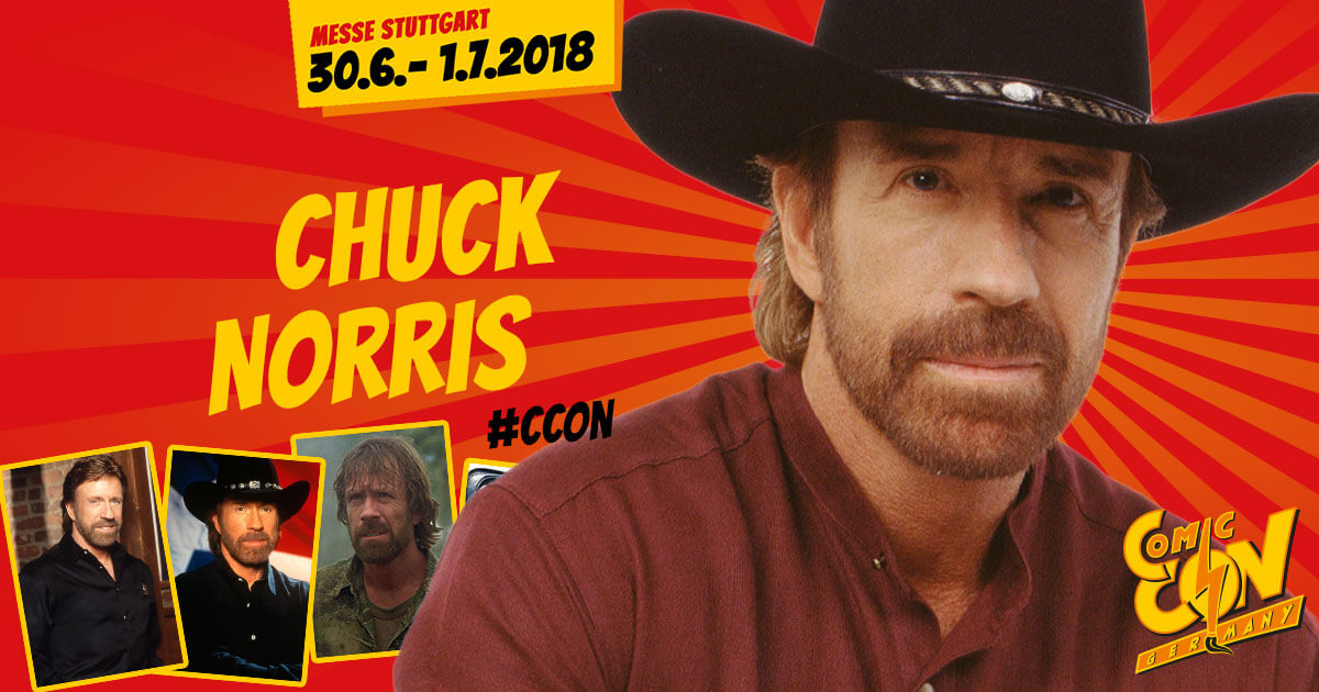 CCON | COMIC CON GERMANY | Stargast | Chuck Norris