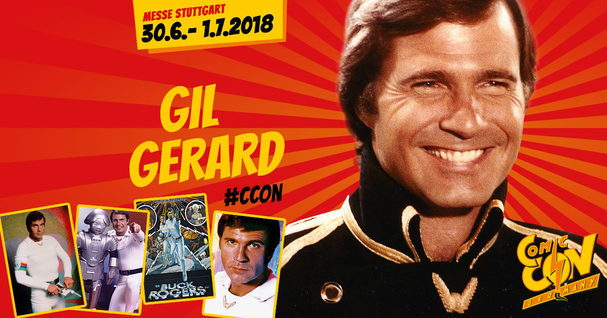 CCON | COMIC CON GERMANY | Stargast | Gil Gerard