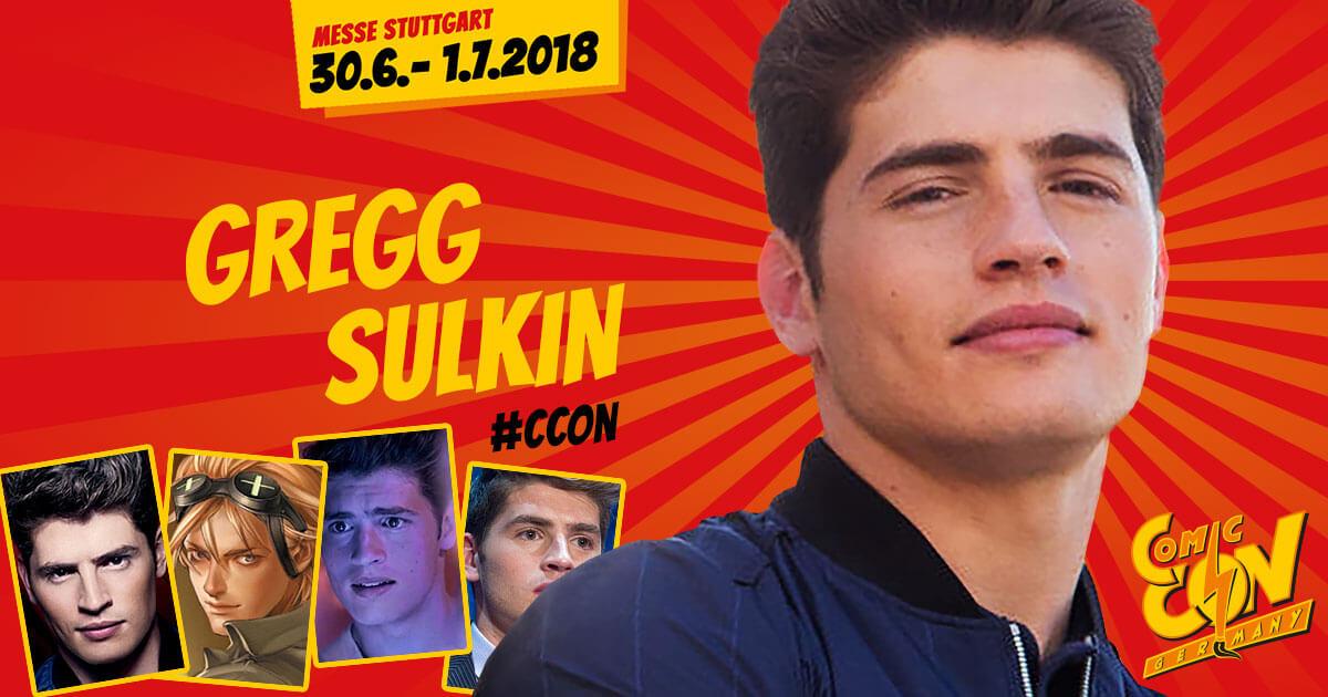 CCON | COMIC CON GERMANY | Stargast | Gregg Sulkin