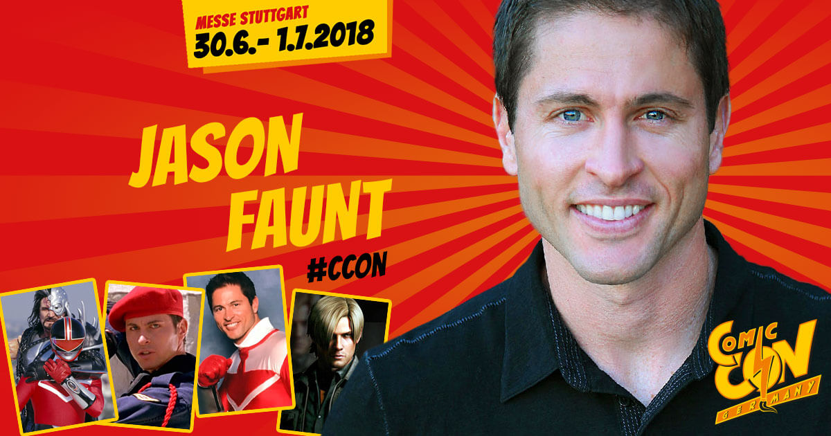 CCON | COMIC CON STUTTGART | Stargast | Jason Faunt