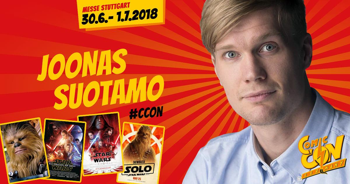 CCON | COMIC CON GERMANY | Stargast | Joonas Suotamo