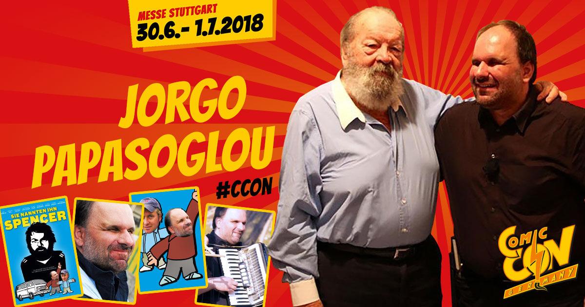 CCON | COMIC CON GERMANY | Stargast | Jorgo Papasoglou