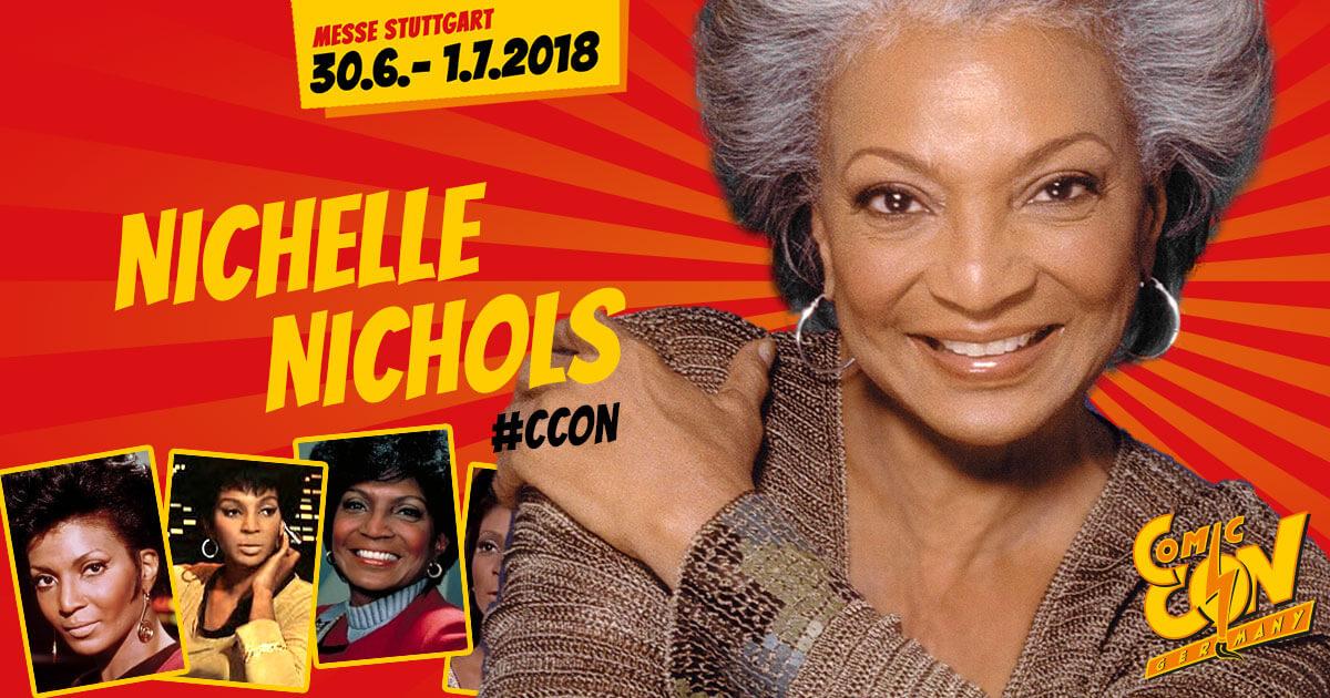 CCON | COMIC CON GERMANY | Stargast | Nichelle Nichols