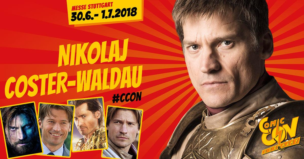 CCON | COMIC CON GERMANY | Stargast | Nikolaj Coster-Waldau