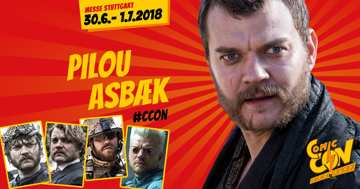 CCON | COMIC CON GERMANY | Stargast | Pilou Asbæk