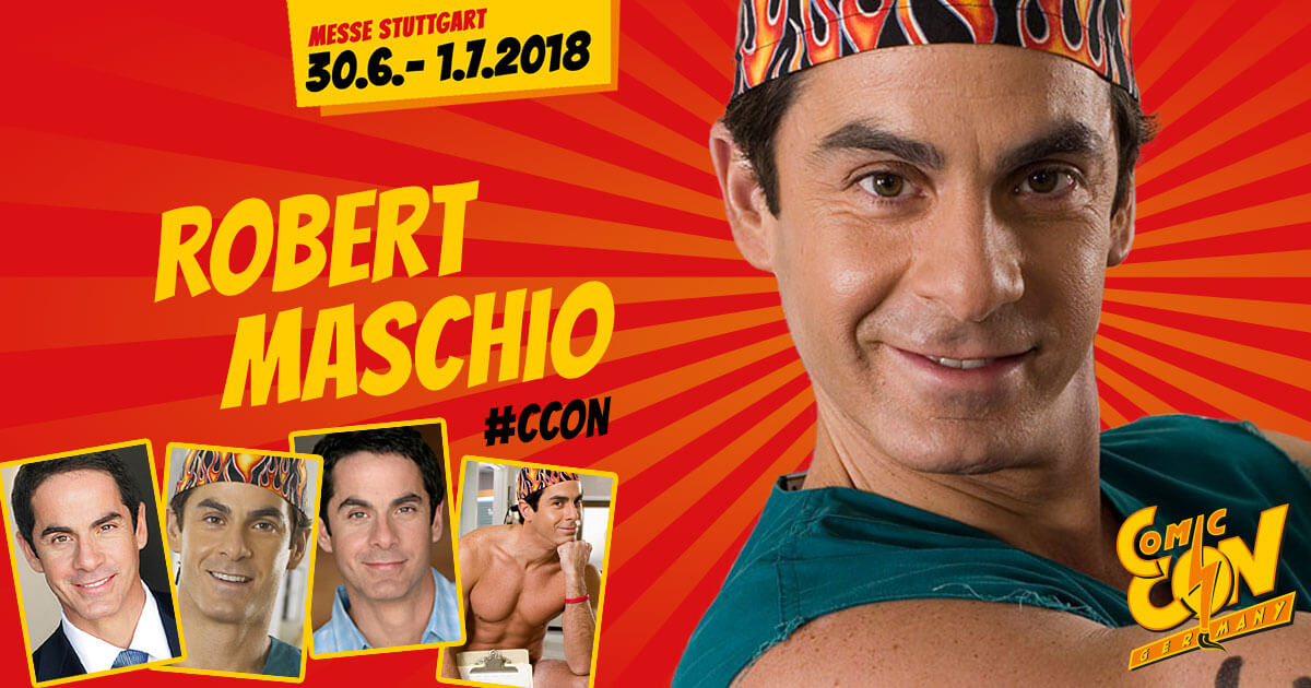 CCON | COMIC CON GERMANY | Stargast | Robert Maschio