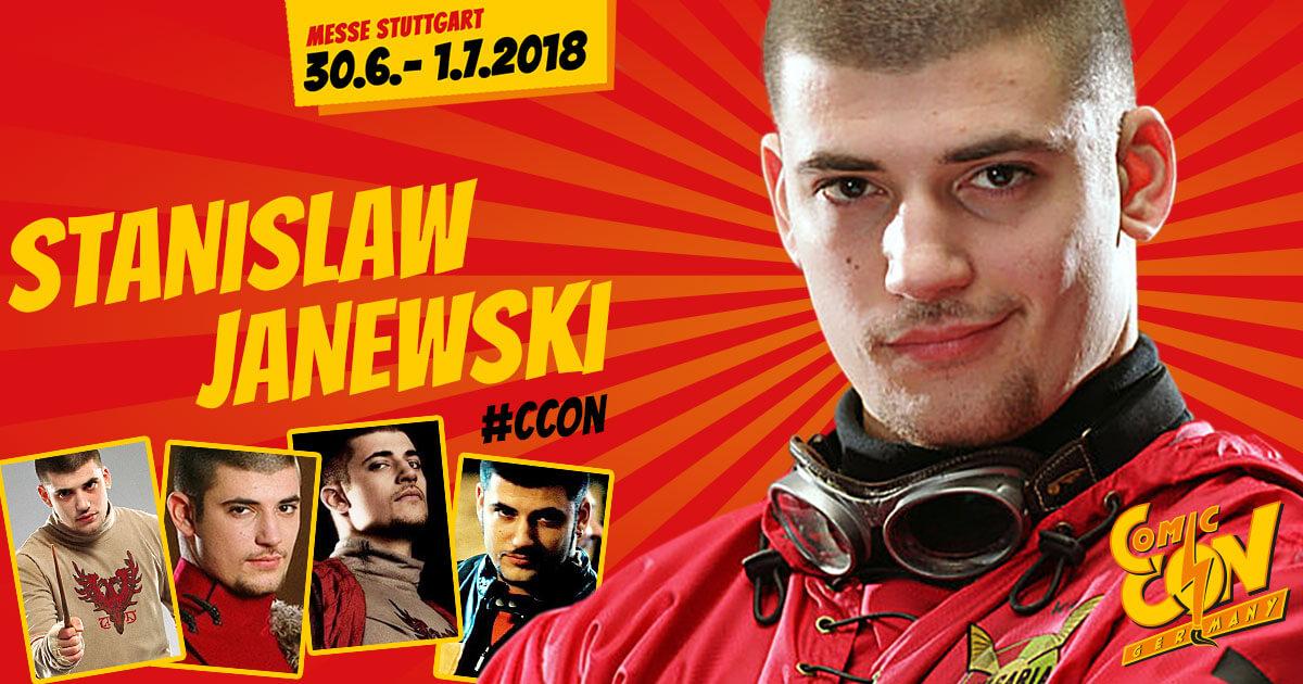 CCON | COMIC CON GERMANY | Stargast | Stanislaw Janewski