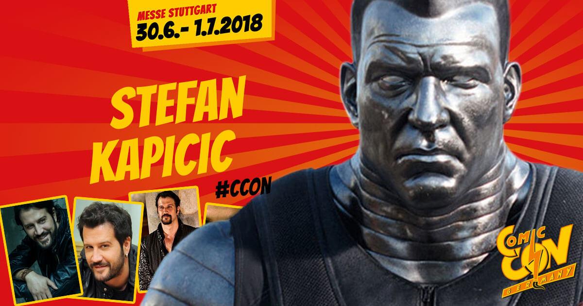 CCON | COMIC CON GERMANY | Stargast | Stefan Kapicic