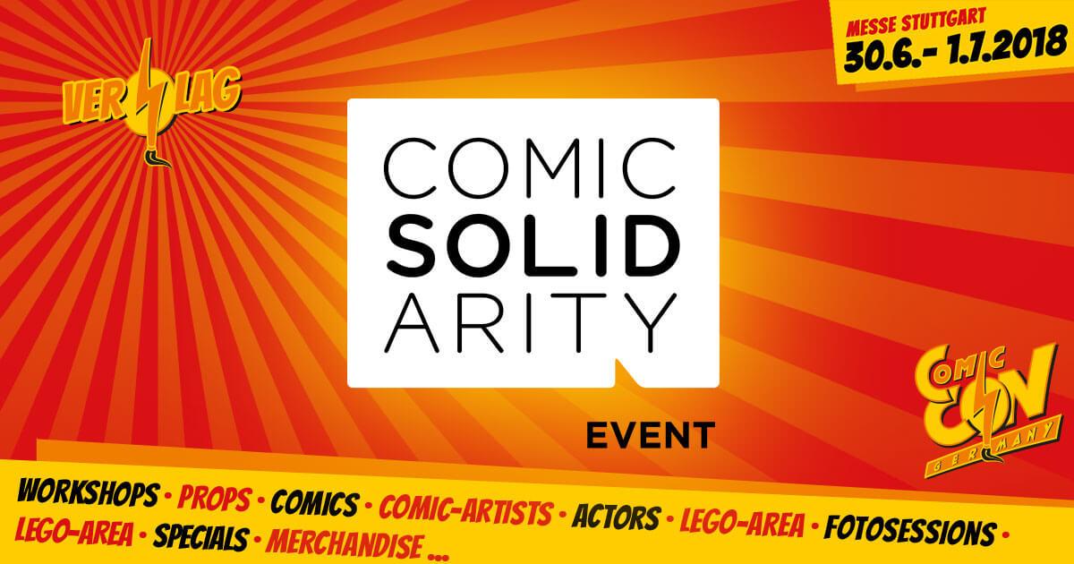CCON | COMIC CON GERMANY | Verlag | Comic Solidarity