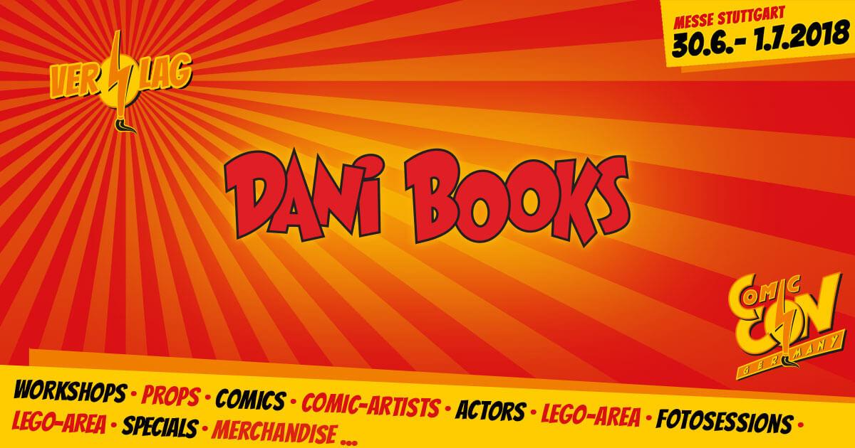CCON   COMIC CON GERMANY   Verlag   Dani Books