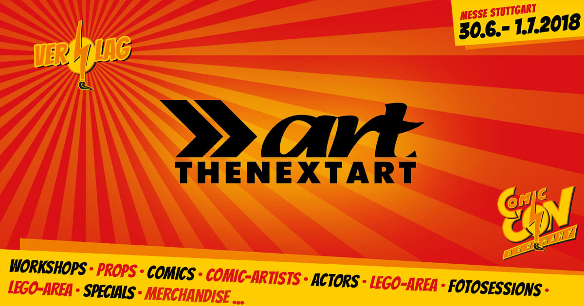 CCON | COMIC CON GERMANY | Verlag | The Next Art