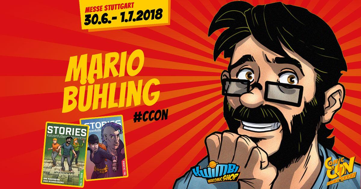 CCON | COMIC CON GERMANY | Verlagsartist | KWIMBI - Mario Bühling