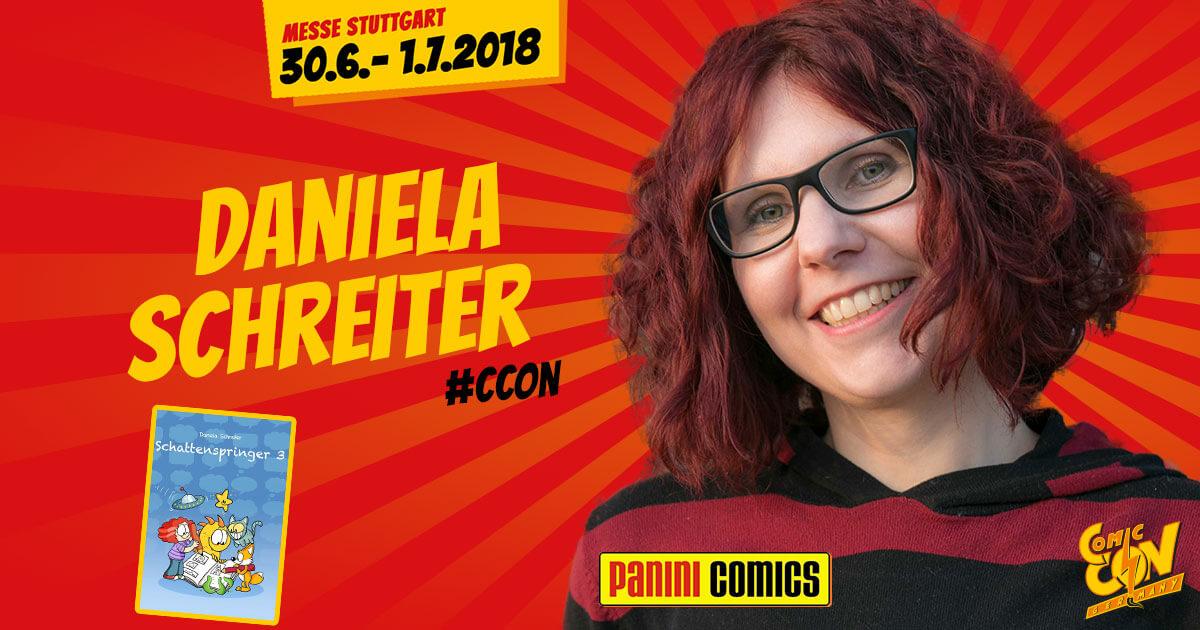 CCON | COMIC CON GERMANY | Verlagsartist | Panini - Daniela Schreiter