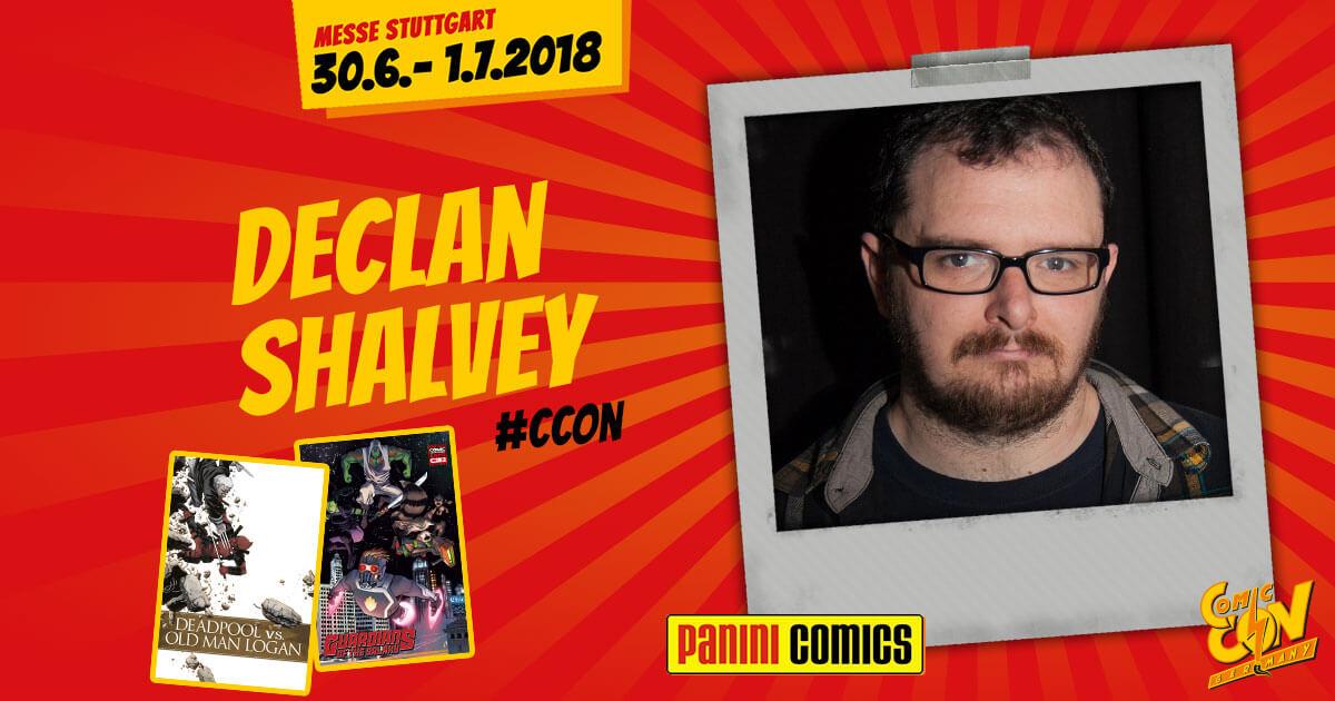 CCON | COMIC CON GERMANY | Verlagsartist | Panini - Declan Shalvey