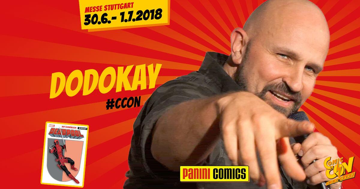 CCON | COMIC CON GERMANY | Verlagsartist | Panini - Dodokay