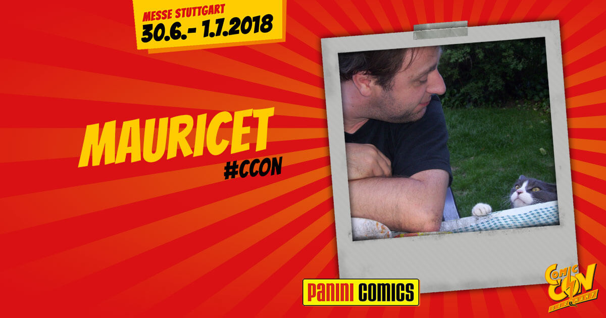 CCON | COMIC CON GERMANY | Verlagsartist | Panini - Mauricet