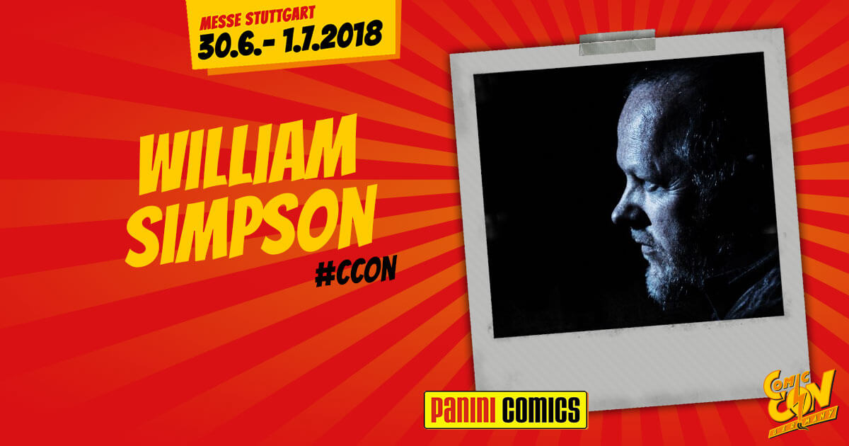 CCON | COMIC CON STUTTGART | Verlagsartist | Panini - William Simpson