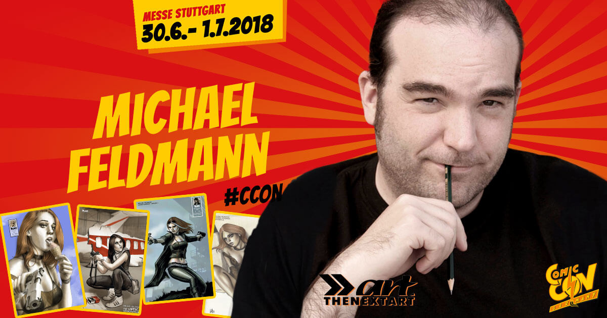 CCON | COMIC CON GERMANY | Verlagsartist | The Next Art - Michael Feldmann