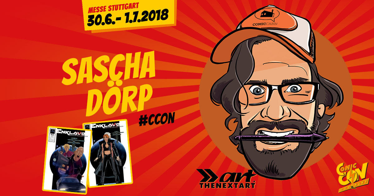 CCON | COMIC CON GERMANY | Verlagsartist | The Next Art - Sascha