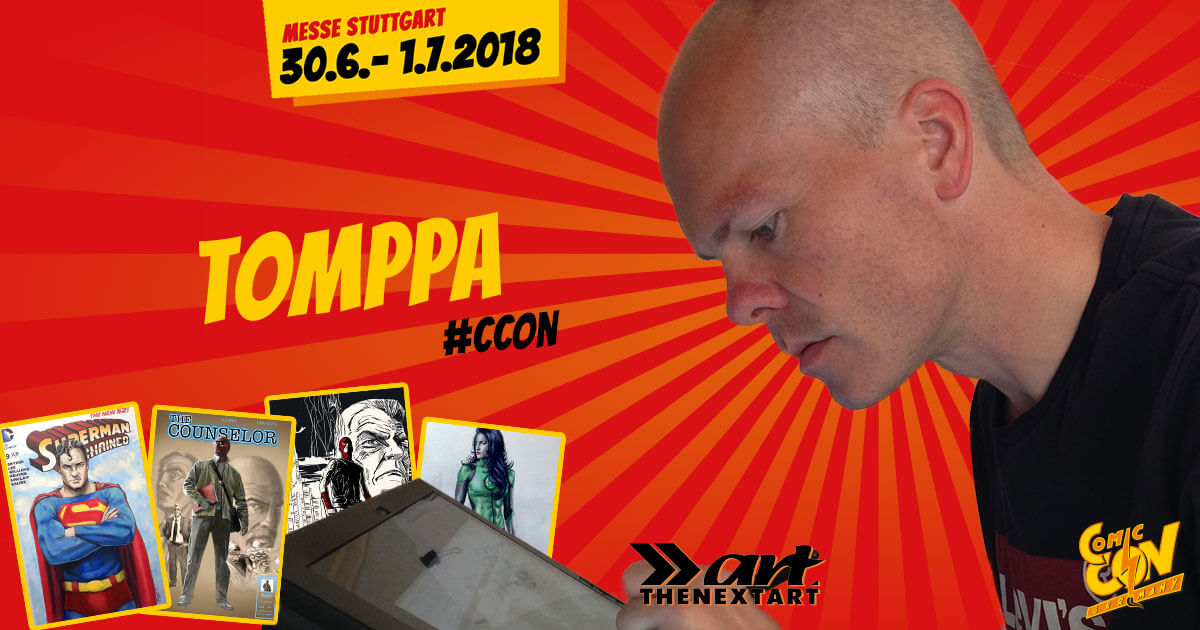 CCON | COMIC CON GERMANY | Verlagsartist | The Next Art - Tomppa