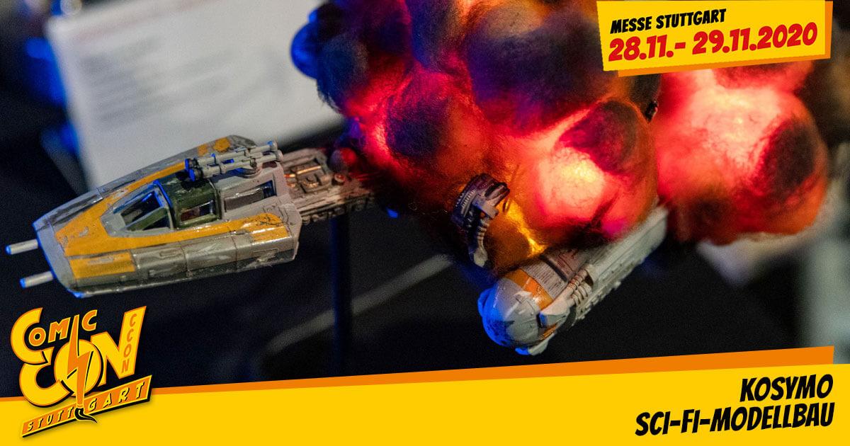CCON | COMIC CON STUTTGART 2020 | Specials | KosyMo Sci-Fi-Modellbau