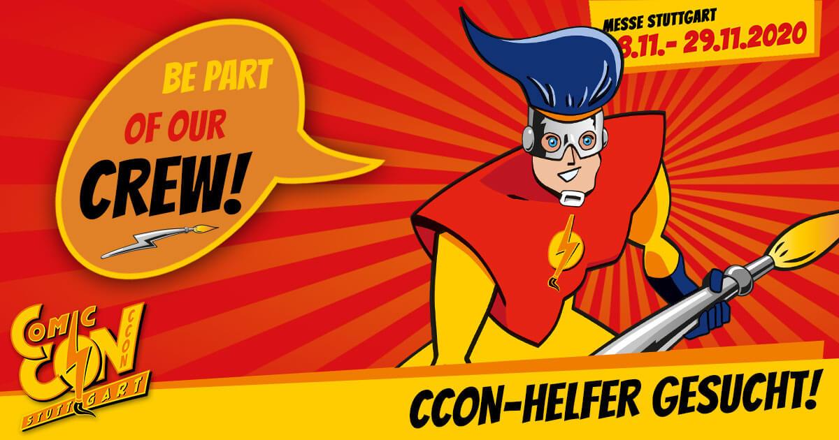 CCON | COMIC CON STUTTGART 2020 | Infos | CCON-Helfer gesucht!