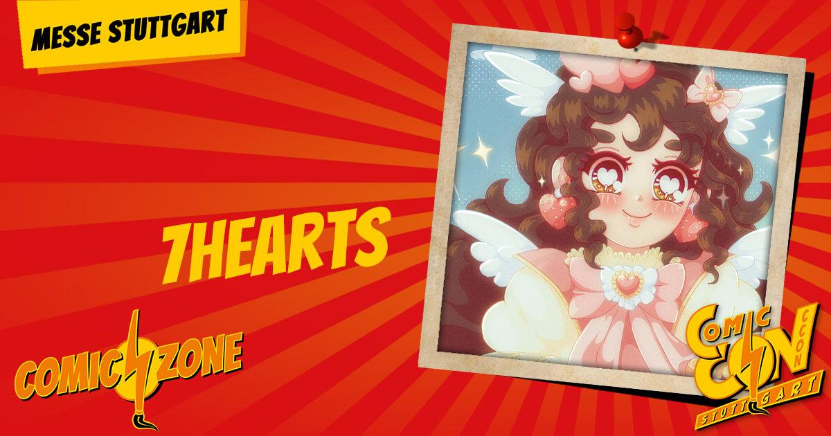 CCON   COMIC CON STUTTGART   Zeichner   7 Hearts
