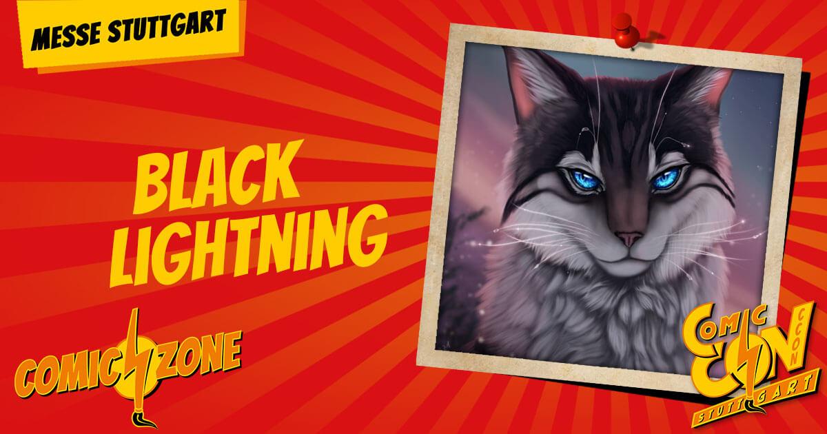 CCON   COMIC CON STUTTGART   Zeichner   Black Lightning