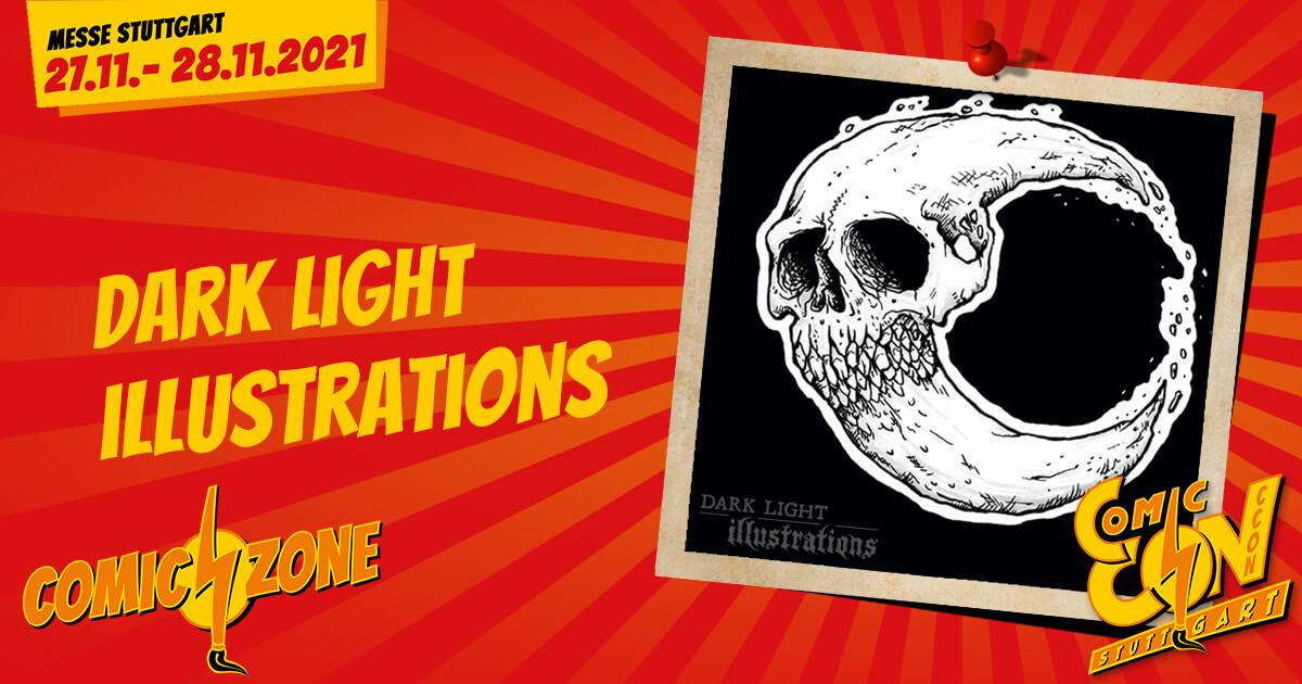CCON | COMIC CON STUTTGART | Zeichner | Dark Light Illustrations