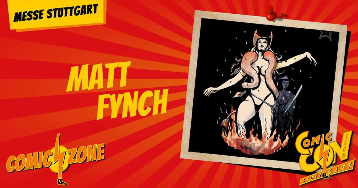 CCON   COMIC CON STUTTGART   Zeichner   Matt Fynch