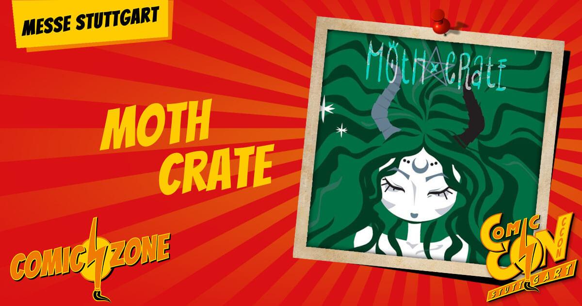 CCON | COMIC CON STUTTGART | Zeichner | Moth Crate
