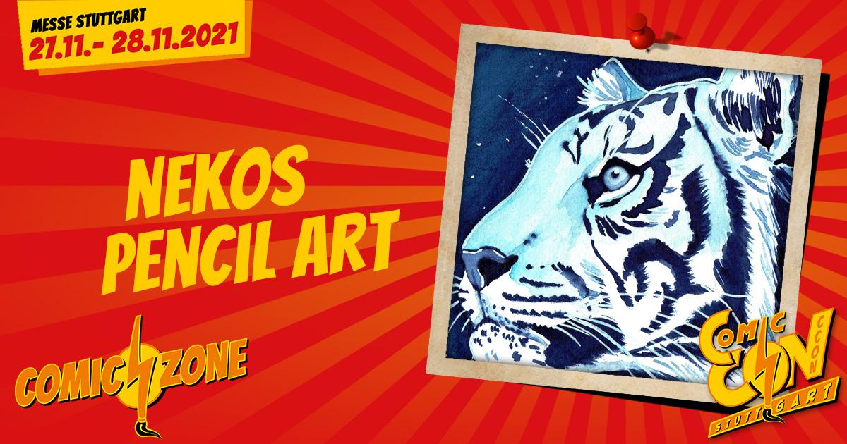 CCON   COMIC CON STUTTGART   Zeichner   Nekos Pencil Arts