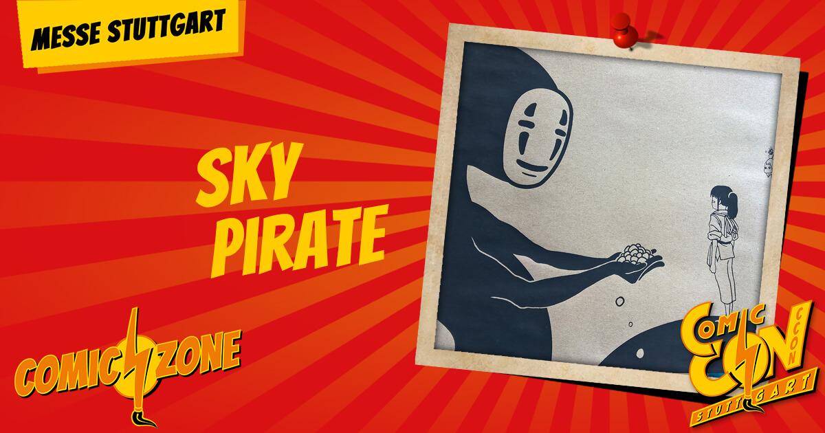 CCON | COMIC CON STUTTGART | Zeichner | Sky Pirate