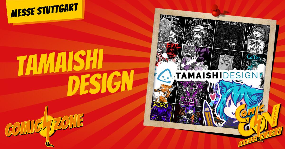 CCON   COMIC CON STUTTGART   Zeichner   Tamaishi