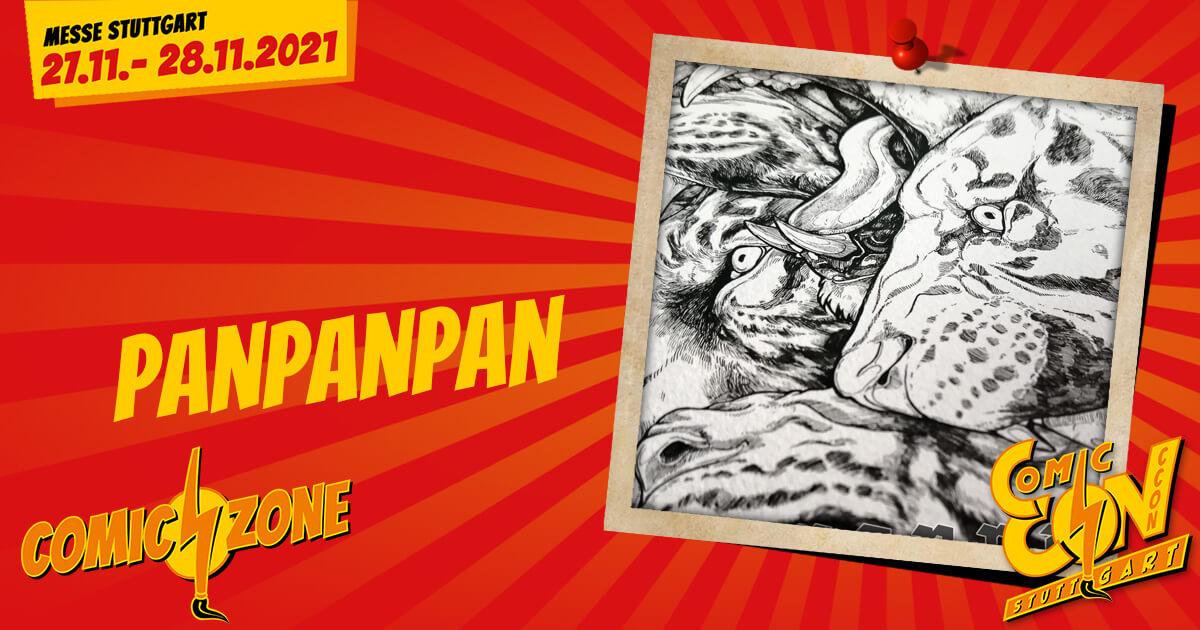 CCON | COMIC CON STUTTGART | Zeichner | PanPanPan