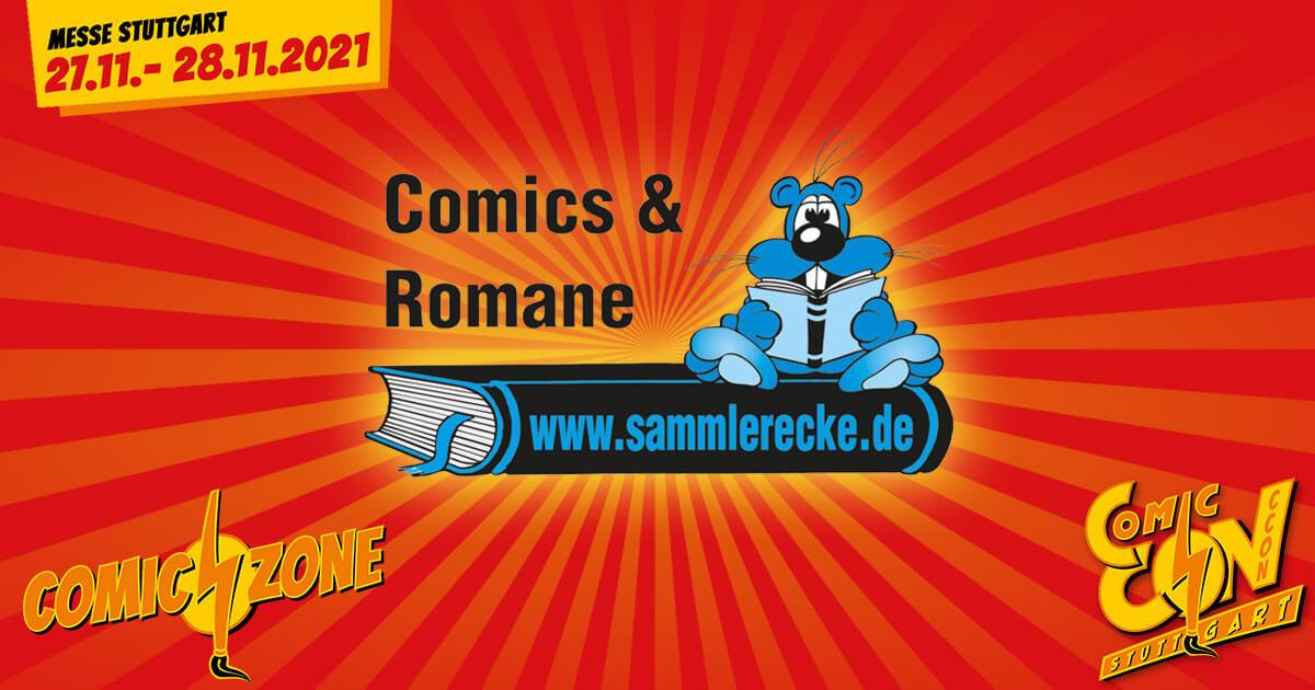 CCON | COMIC CON STUTTGART 2021 | Comic-Verlage | Sammlerecke