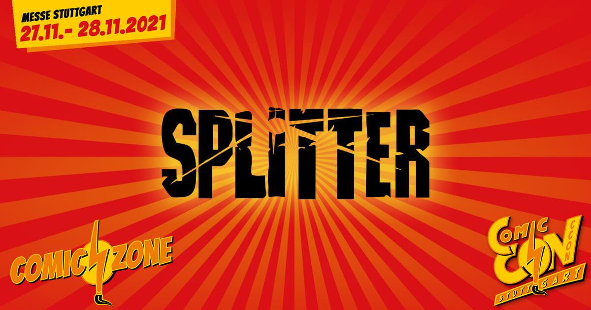 CCON | COMIC CON STUTTGART 2021 | Comic-Verlage | Splitter