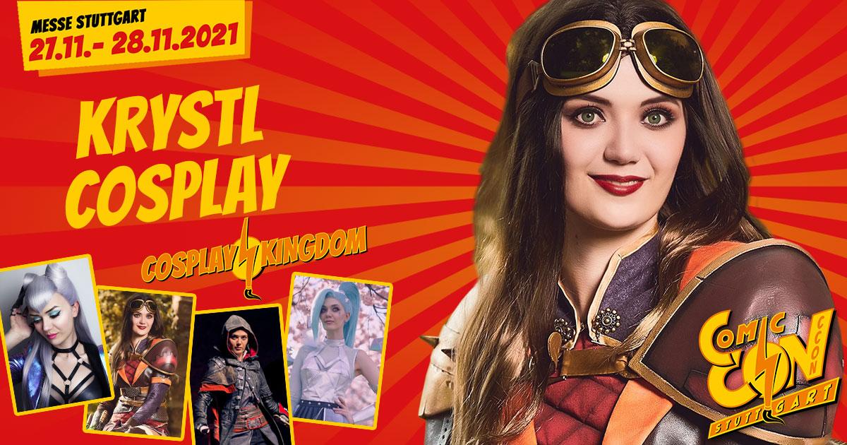 CCON | COMIC CON STUTTGART | Cosplayer | Krystl Cosplay