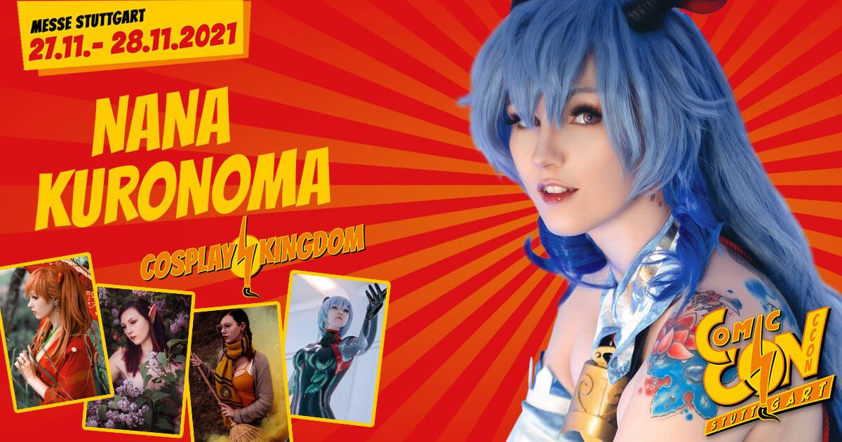 CCON | COMIC CON STUTTGART | Cosplayer | Nana Kuronoma