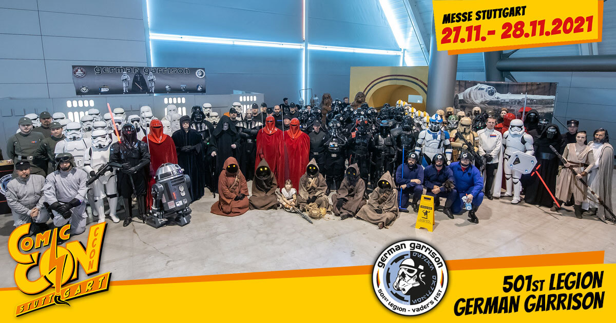 CCON | COMIC CON STUTTGART 2021 | Specials | 501st Legion - German Garrison