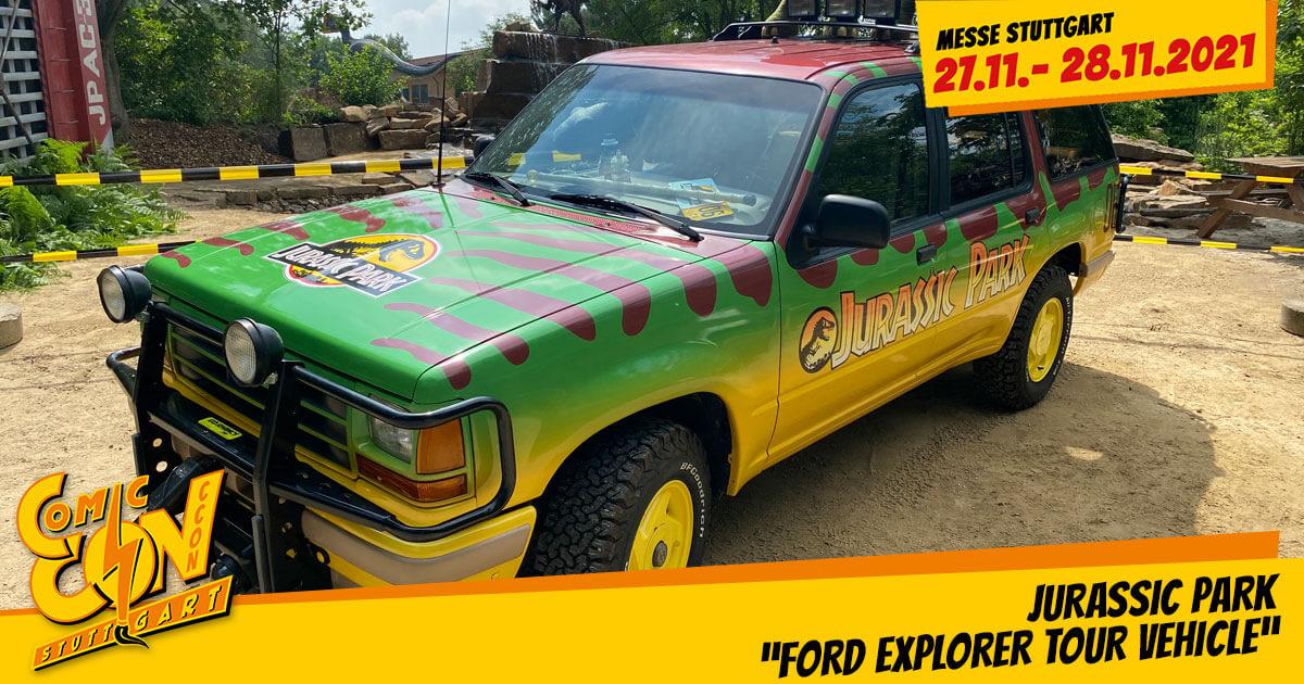 CCON | COMIC CON STUTTGART 2021 | Specials | Jurassic Park - Ford Explorer Tour Vehicle