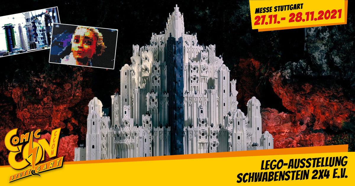 CCON | COMIC CON STUTTGART 2021 | Specials | LEGO-Ausstellung - Schwabenstein 2x4 e.V.