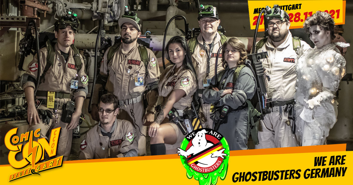 CCON | COMIC CON STUTTGART 2021 | Specials | We are Ghostbusters Germany