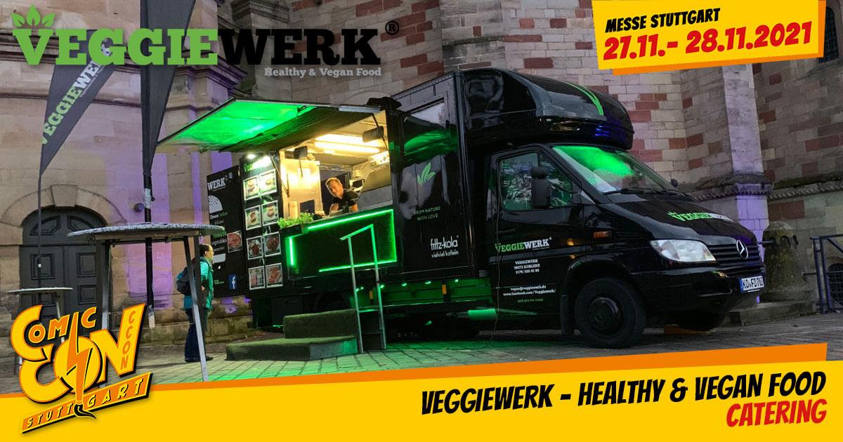 CCON | COMIC CON STUTTGART 2021 | Catering | Veggiewerk - Healthy & Vegan Food