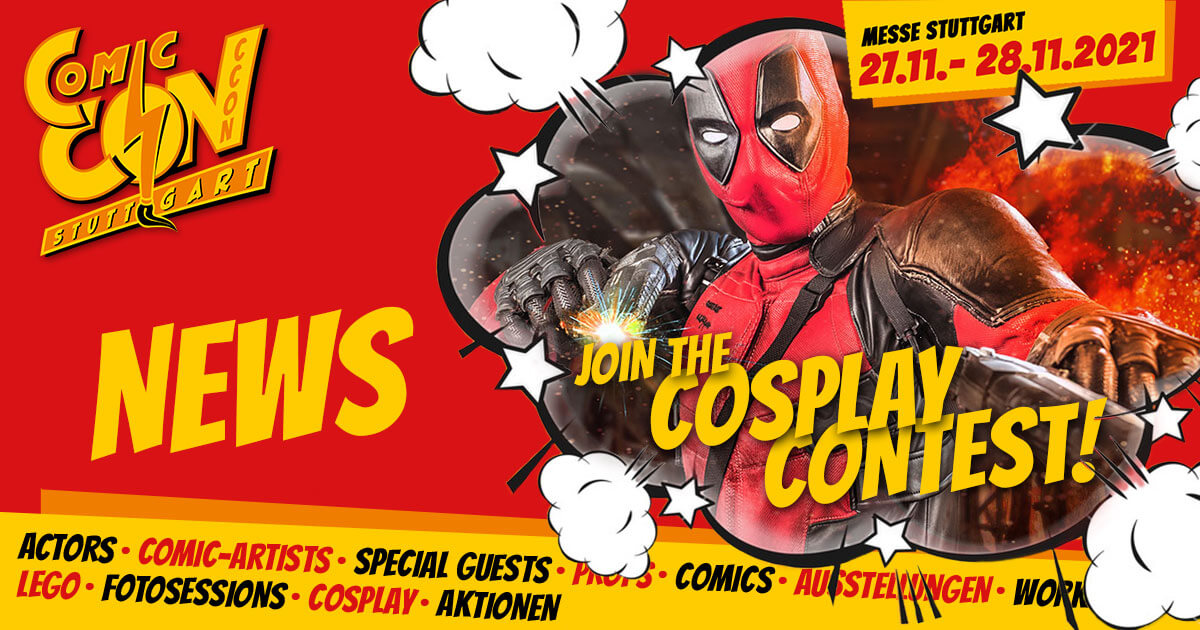 CCON | COMIC CON STUTTGART 2021 | News | Join the Cosplay Contest!