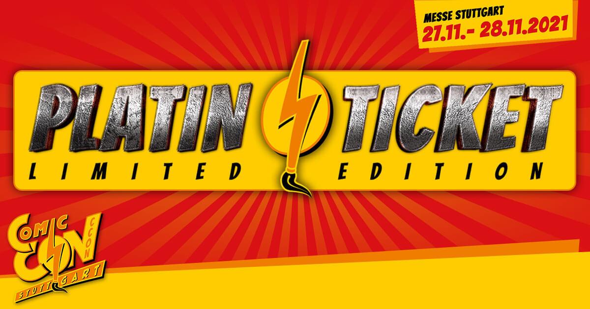 CCON | COMIC CON STUTTGART | Platin-Ticket